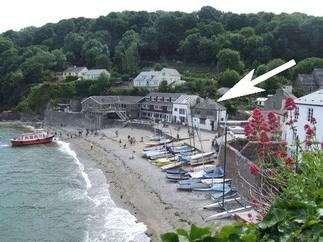 Ocean Waves is in Cawsand, Cornwall