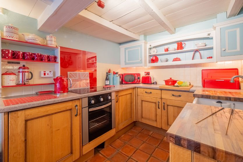 Chocolate Box Cottage is located in Mithian