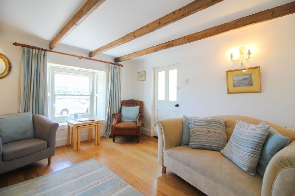 Brackley Cottage is in St Mawes, Cornwall