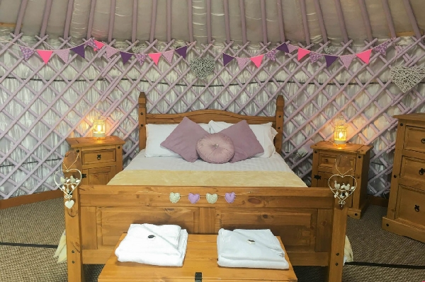 Lavender Yurt price range is from just £439