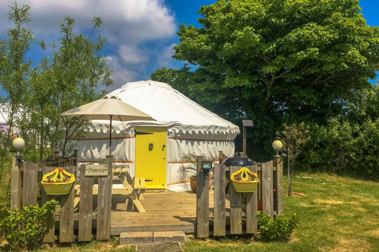 Click here for more about Primrose Yurt