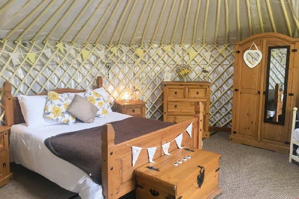 Primrose Yurt price range is from just £439