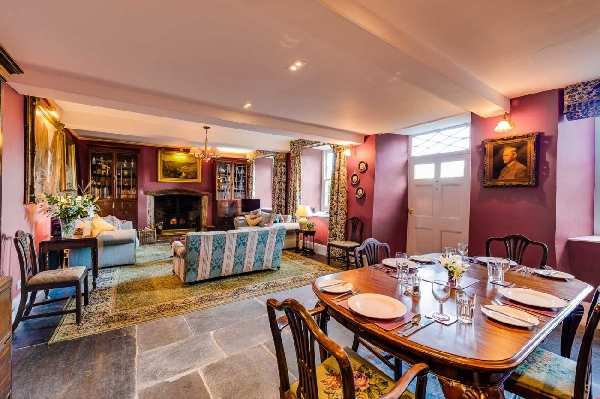 The West Wing at Trevadlock Manor is in Bodmin Moor, Cornwall