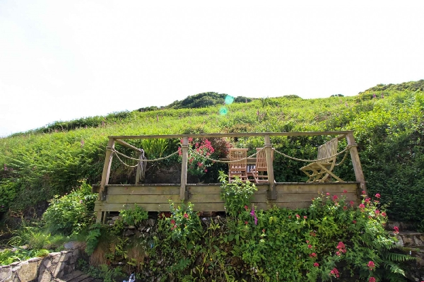 Cove Cottage is located in Portloe