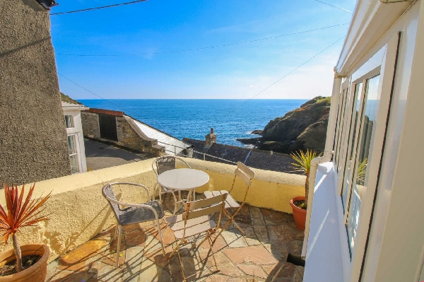 Cottage holidays England - Ocean View, Portloe