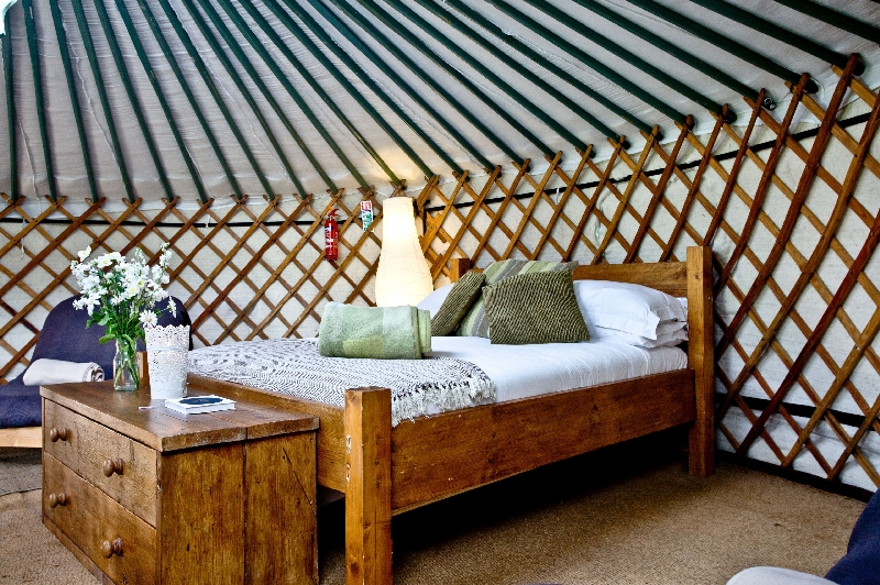Click here for more about Yurt 3 - East Thorne