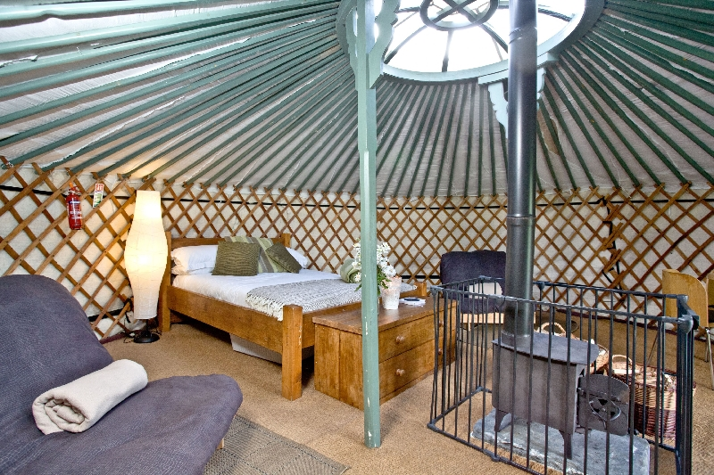 Click here for more about Yurt 4 - East Thorne Farm