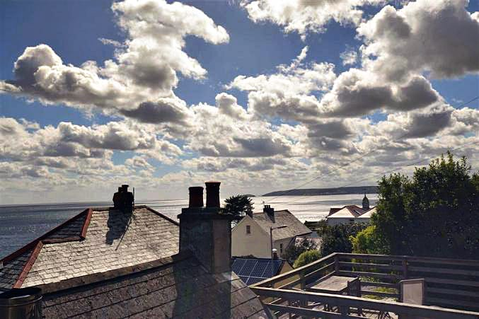 Rose Cottage is in Downderry, Cornwall